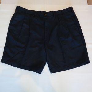 Roundtree & Yorke EXPANDER WAISTBAND Blue Shorts